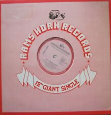 "CAROL JIANI - HIT 'N RUN LOVER  - 12"" 33 RPM GIANT SINGLE"