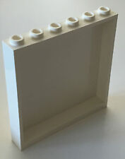*NEW* 1 Piece Lego WHITE Panel 1x6x5
