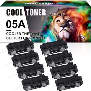 8x NON OEM Toner Compatible CE505A HP LaserJet P2030 P2035 P2035N P2050 P2055D