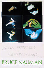 Falls, Pratfalls + Sleights of Hand - Bruce Nauman Art Print 1994 Exhibit Poster