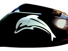 Dolphin Car Sticker Wing Mirror Styling Decals (Set of 2), Chrome