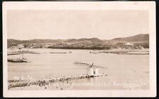 GUANTANAMO BAY CUBA USS Monongohela Remains Vtg RPPC