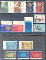 GREECE LOT OF MINT NH EUROPA STAMPS  MINT NEVER HINGED