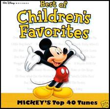 MICKEY MOUSE : BEST OF CHILDREN FAVORITES CD ~ WALT DISNEY KIDS FAVOURITES *NEW*