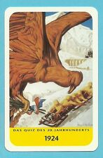 Olympics 1924 Chamonix France Cool Collector Card Europe Look!