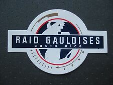autocollant : raid gauloises  Costa Rica 1990