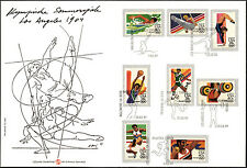 Olimpiadi di Los Angeles 1984 - Busta speciale con annullo FDC