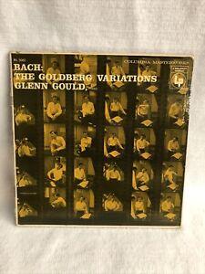 Columbia ML5060 Bach:Goldberg Variations/Glenn Gould, 6 eye, 1955