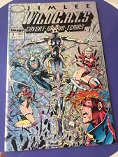 Jim Lee WildCATS 2 Image Comic Book 1st Appearance Wetworks 1992 Foil Cover
