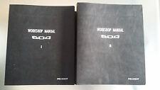Peugeot 604 Workshop Repair Manual Manuel - Used RARE