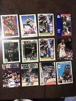 Seattle Supersonics Shawn Kemp Cards Lot (x12)