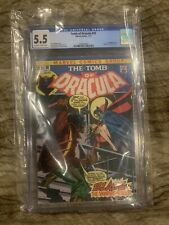 TOMB OF DRACULA #10 1973 CGC 5.5 🔥1st Appearance Of Blade The Vampire Slayer