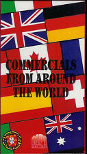 TELEVISION COMMERCIALS FROM AROUND THE WORLD VHS VIDEO TV