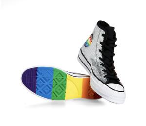 Converse Chuck 70 Pride Sequined Hi Tops gay rainbow LGBTQIA+ 167755C sneakers
