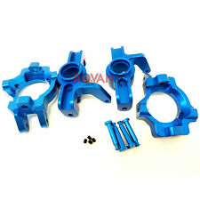 Rovan LT Front CNC Blue Aluminum Complete Hub Kit Fits LOSI 5IVE T King Motor X2