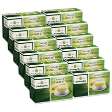 Bünting Tee Grüner Tee Mango-Zitrone 12er Pack