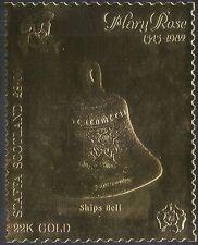 Staffa (L) 1982 Mary Rose/Sailing Ship/Ships Bell/Boats  GOLD 1v s/a (n22066)