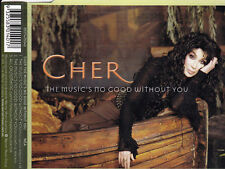 CHER The Music's No Good Without You CD Single - New