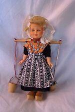 Alte Puppe Celluloid 18 cm 1970, Spielzeug A37 HANDARBEIT