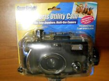 Snap Sights Underwater Film Camera, Waterproof to 100ft, Reusable 35mm Nos Beach