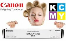 Canon Genuine NPG-67 BLACK Original Toner Printer/Copier Cartridge Ink NEW