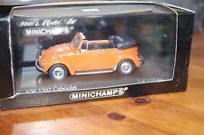 MINICHAMPS 1/43 VW 1302 CABRIOLET édition limitée à 1104, comme neuve en boite