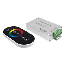LED Full Touch Controller Dimmer Wireless RF Remote For RGB LED Strip DC12V 6A