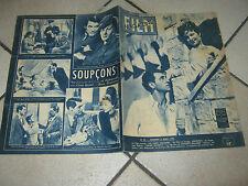 FILM MAGAZINE,1947,IL SOSPETTO,Suspicion,Hitchcock,Cary Grant,Fontaine,,granger