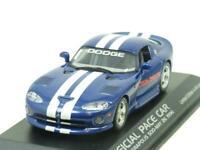 Minichamps 430 144023 Dodge Viper Indy Pace Car 1996 Blue 1 43 Scale Boxed