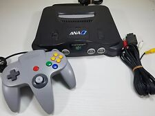 ANA Nintendo 64 Console System Japan Import # rare limited collection N64