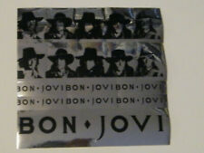 """BON JOVI Wanted Dead Or Alive unused metal foil stickers only From 7"""" Single"""