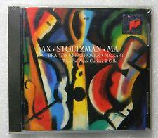 NEW Brahms Beethoven Mozart Trios 4 Piano Clarinet Cello DDD CD AX MA Stolzman