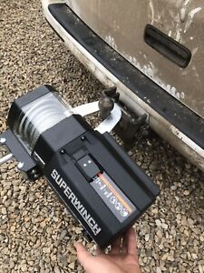 Superwinch mount tow ball hitch portable winch bracket LT2000 S Series GP Series
