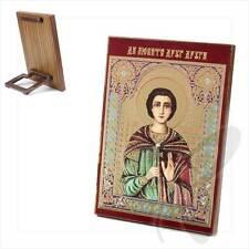 Icona Bonifacio santo martire legno 8x6 вонифатий Святой мученик икона