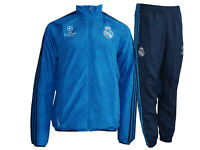 adidas Real Madrid Sport Anzug blau Champions League Pres.Suit Real Gr.XS - 3XL