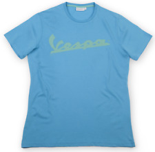 Vespa Logo Round Neck T-Shirt Mens Green Blue Red Official Product 20% OFF RRP