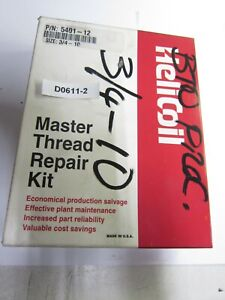3/4-10 Helicoil Master Thread Repair Kit  inv D0611-2
