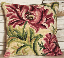1x Cross Stitch Kit Cushion Wild Rose Left Sewing Craft Tool Hobby Art