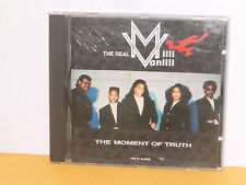 CD - THE REAL MILLI VANILLI - THE MOMENT OF TRUTH