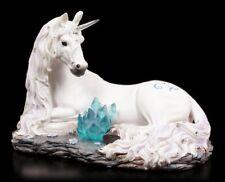 Einhorn Figur - Jewelled Tranquillity - Fantasy Pferd Schmucksteine verziert