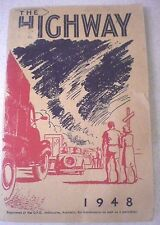 Aust Vintage  THE HIGHWAY, 1948 - STUDIES FOR OLDER YOUNG PEOPLE s/c Religion
