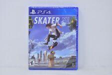 【Brand New】 Skater XL 【Sony PlayStation 4 PS4, 2020】 Skateboard Sport SEALED