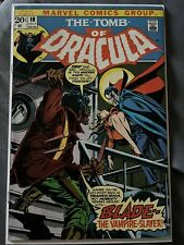Tomb of Dracula 10 nice Mid Grade copy 6.0-7.0 First Appearance Of Blade
