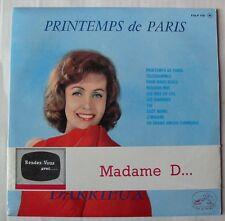 DANIELLE DARRIEUX (33T 25cm) PRINTEMPS DE PARIS (avec BANDEAU)