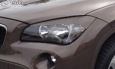 RDX Scheinwerferblenden Set ABS schwarz für BMW X1 E84 bis 2012