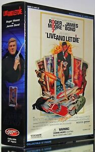 Sideshow Collectables 'Live & Let Die' Roger Moore as James Bond 007 1:6 Figure
