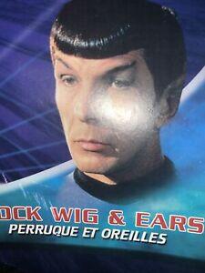 Brand New Star Trek Adult Spock Costume Wig with Ears Rubies 68251