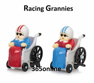 Racing Grannies Wind Up and Pull Back Toys Fun Novelty Gifts