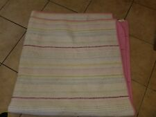"""Pottery Barn Teen """"Embroidered Stitch"""" Reversible F/Q Quilt"""