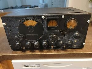 Vintage Hallicrafters S-27 Ultra High Frequency Receiver (UNTESTED) NO POWER COR
